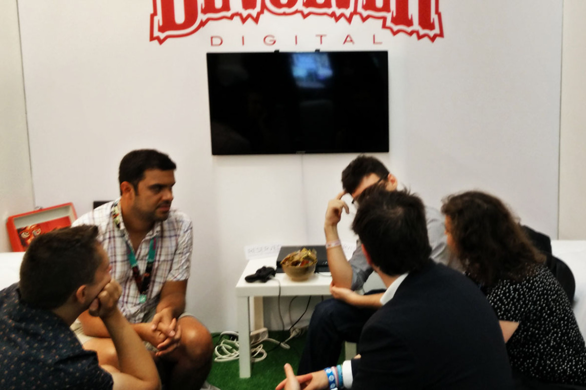 Meeting with Devolver Digital @ Gamescom 2015